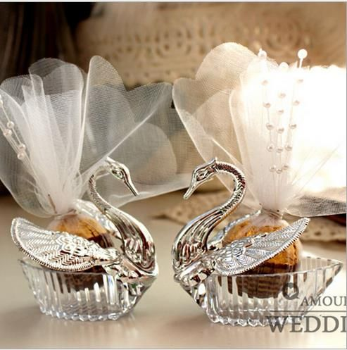 cheap gift ideas men christmas buy quality gift time directly from china gift box for baby suppliers european styles wedding candy box acrylic silver swan