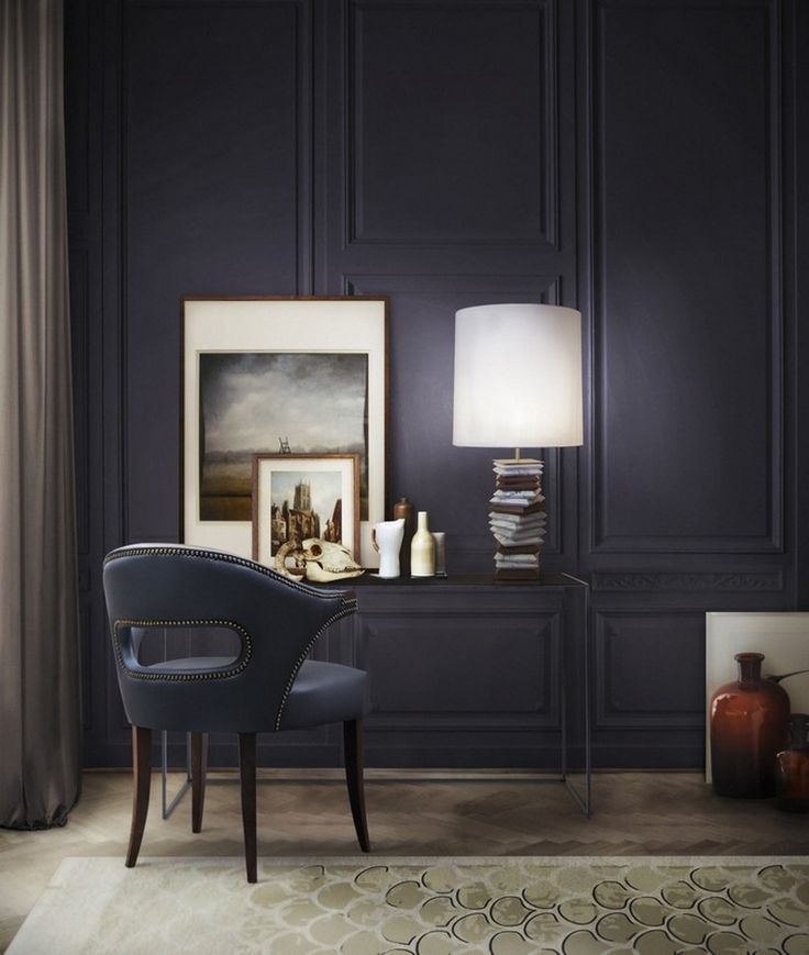20 Inspirational Home Office Ideas and Color Schemes | See more at http://www.bocadolobo.com/en/inspiration-and-ideas/inspirational-home-office-ideas-color-schemes/
