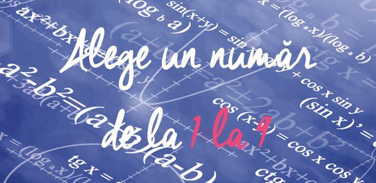 Un truc matematic prin care îți vom ghici cu exactitate vârsta