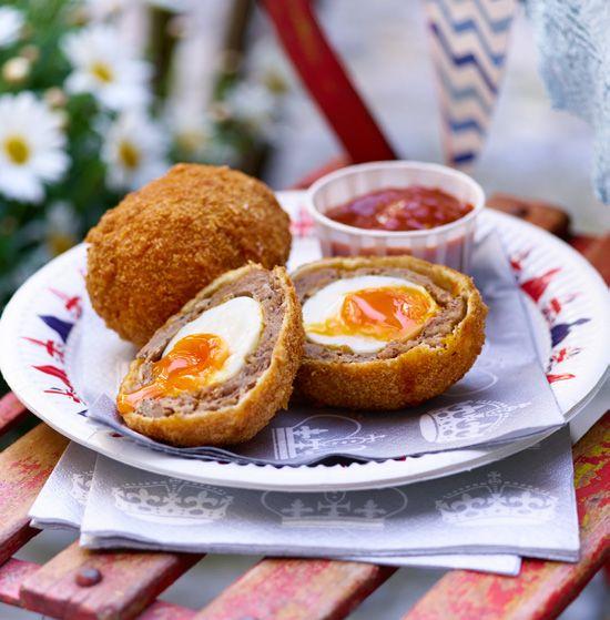 Scotch Eggs with Pimm's Ketchup | Asda Good Living