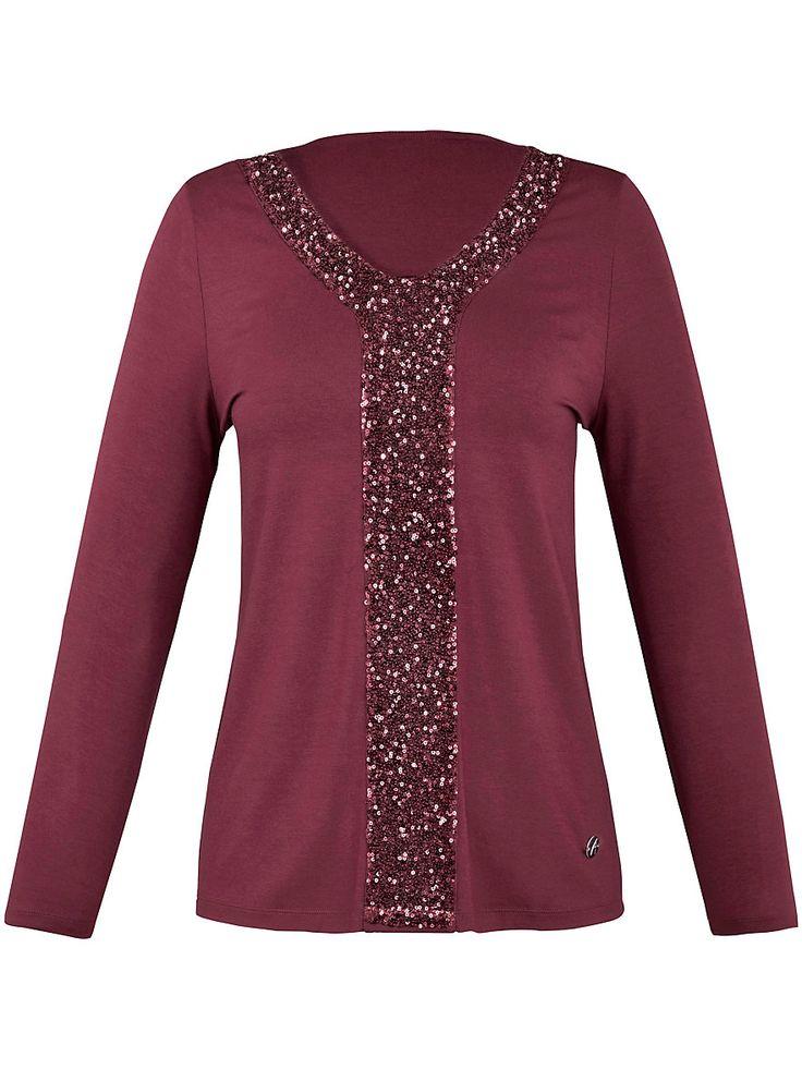 Trendbewusstes und feminines V-Shirt von Anna Aura