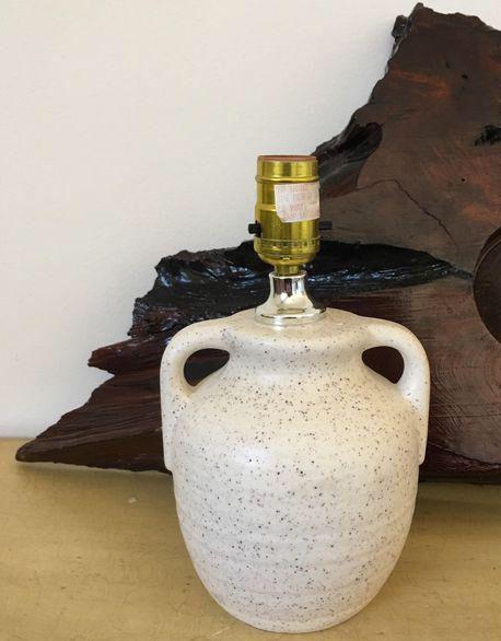 Petite Minimalist Southwestern Lamp on Chairish.com