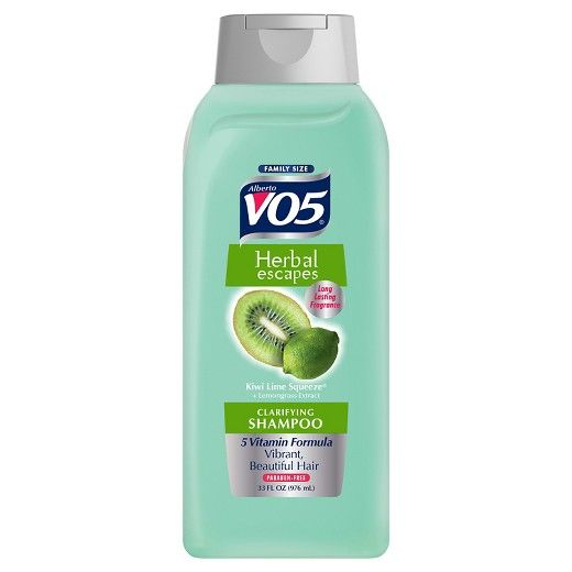 Alberto VO5 Clarifying Shampoo was too harsh and drying for my hair.  However, it does a great job of cleaning product from my synthetic concealer and foundation brushes.