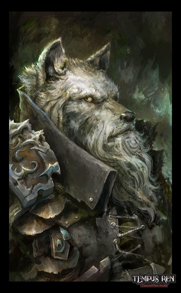 ArtStation - Ulf Portrait - Tempus Ren RPG, Alexandre Chaudret