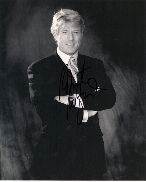 """Robert Redford (Born 1936 in Santa Monica, CA) is an Academy-Award winning Actor, Producer, and Director. He won the Best Director Oscar in 1980 for the film """"Ordinary People"""" and was honored for an Honorary Oscar for career achievement in 2002"""