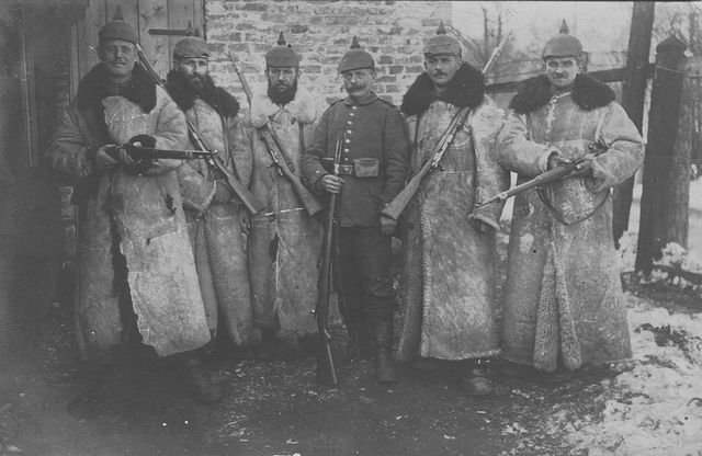 Winter War: Fritz Dressed For Winter 1915