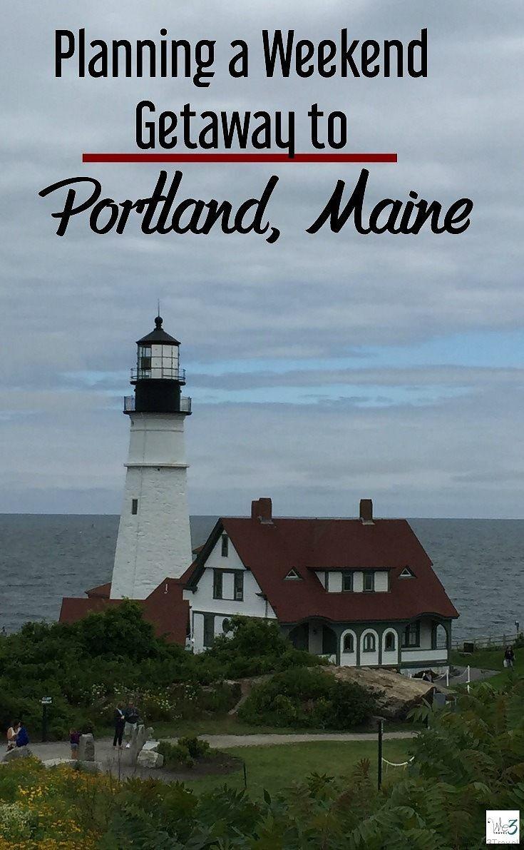 Planning a weekend getaway to Portland Maine #portland #portlandme #maine