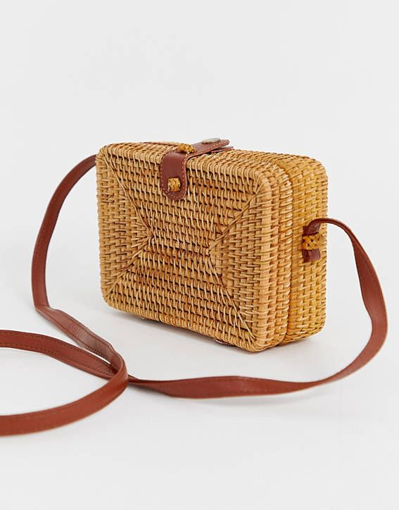 Ladies Women Fashion Rattan Straw Bag Woven Tassel Bucket Bag Shoulder Tote Holiday Beach Handbag Travel Bags Always Buy Good Luggage & Bags Luggage & Travel Bags
