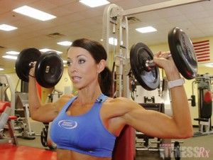 Sexy Shoulders – Video 1  Shoulder Press & One-Arm Leaning Lateral Raise
