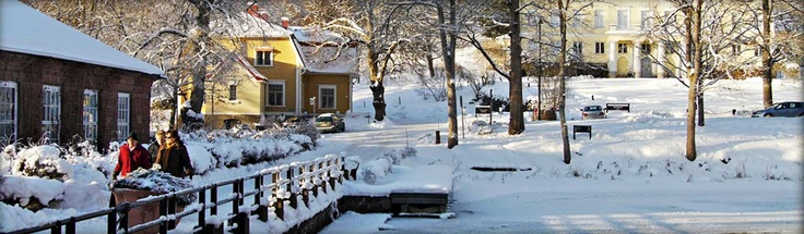The village of Fiskars, Finland. Going there seems like a trip back in time