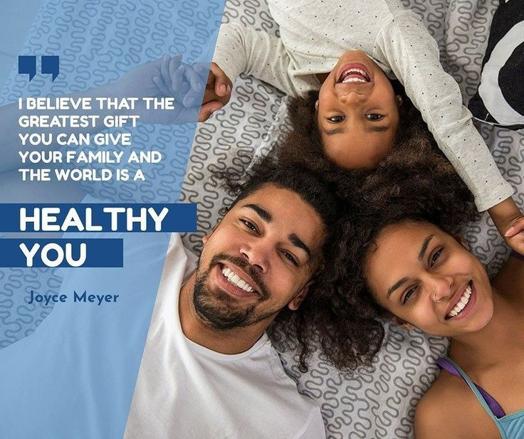 I believe that the greatest gift you can give your family and the world is a Healthy You.  Joyce Meyer