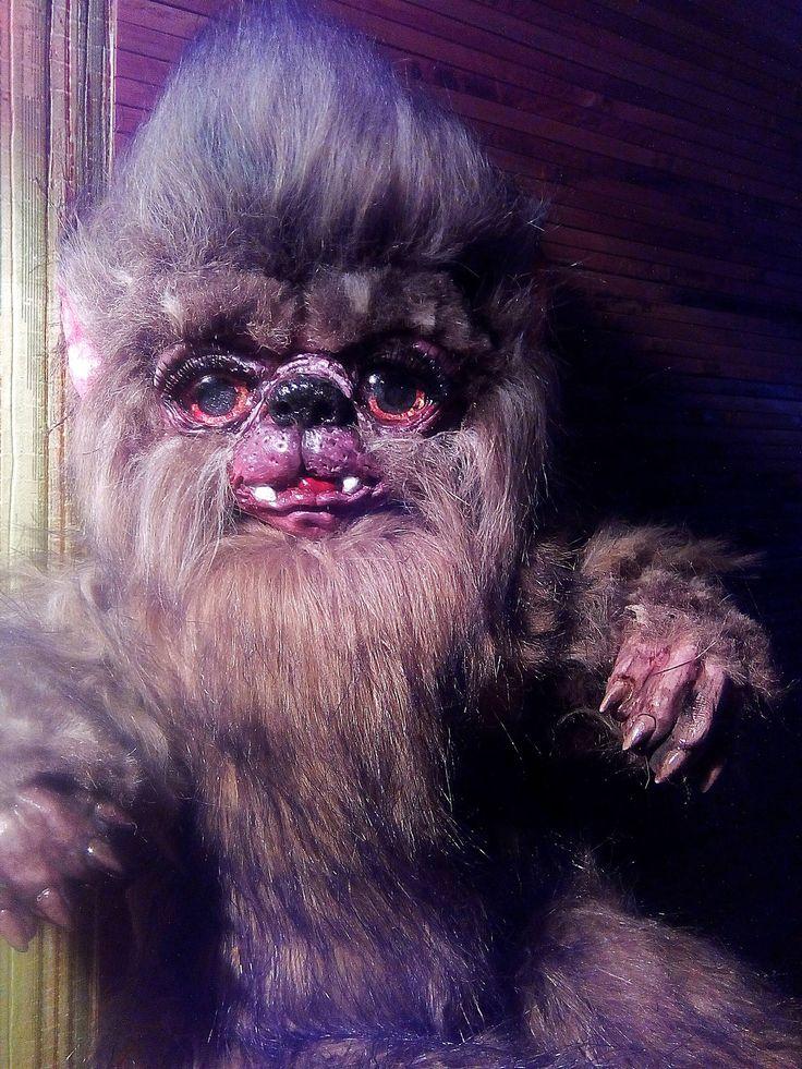 Werewolf big baby monster by Moorlandlove on Etsy