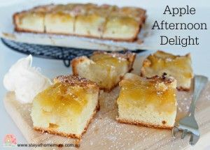 Apple Delight Slice | Stay at Home Mum