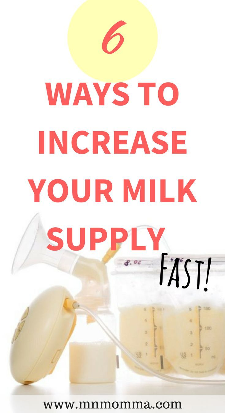 Can You Build Your Breast Milk Back Up