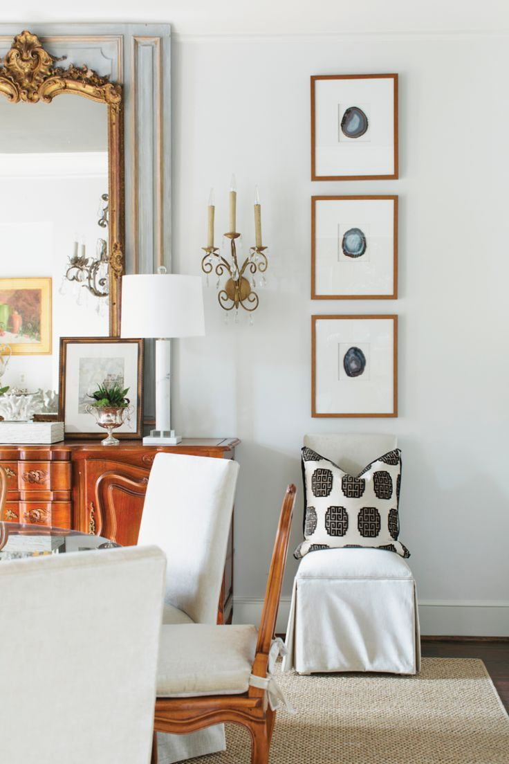 classic dining room | A Brush with Color :: Birmingham Home and Garden