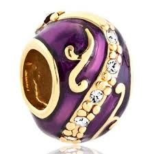 Easter Charms For Bracelet Clear White Crystal Flower Purple Imperial Easter Faberge Egg Bead Fits Pandora Charms Bracelet Breathtakingly beautiful purple Faberge Egg Pandora-style bead. Free gift messages & box available.  http://awsomegadgetsandtoysforgirlsandboys.com/easter-basket-girlfriend/ Easter Basket Girlfriend