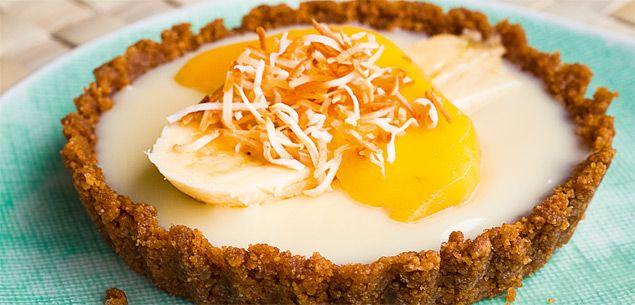 Coconut cream tart - Food & recipes - Recipes - New Zealand Woman's Weekly