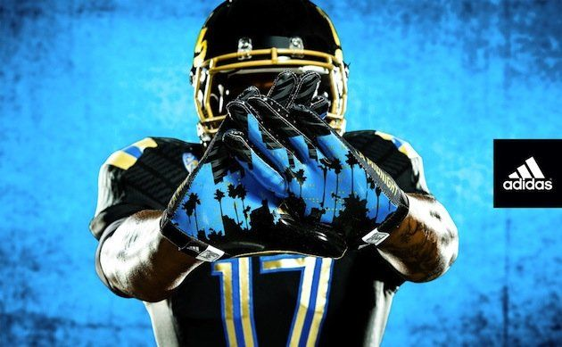 UCLA shows off new 'Midnight LA' uniforms for Nov. 15 game (Photos) - Yahoo! Sports #sports #fashion #clothes #trend