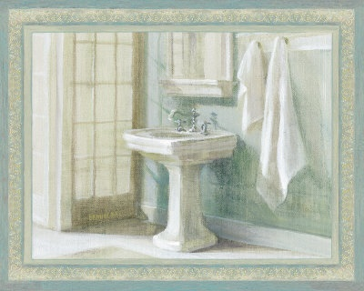 Refreshing Bath I  Art Print  by Danhui Nai