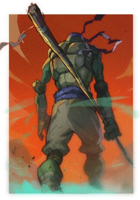 Totally Tubular Teenage Mutant Ninja Turtle Art — GeekTyrant