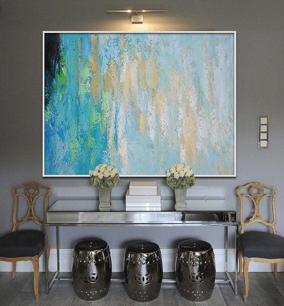 contemporary wall art large art abstract painting modern wall decor original and handmade - Contemporary Wall Decor