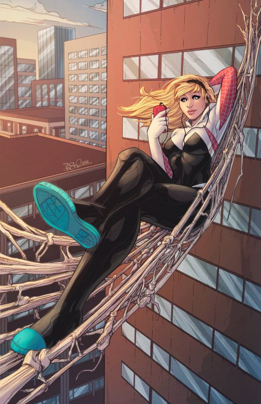 I Heart Spider-Gwen !!!  Created by Danielle St-Pierre