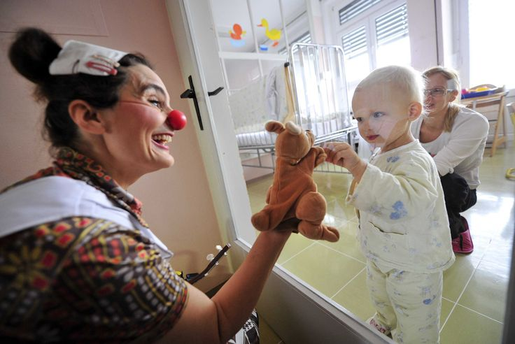 Clown doctors bring levity to serious situations - And give ailing patients a reason to smile<3