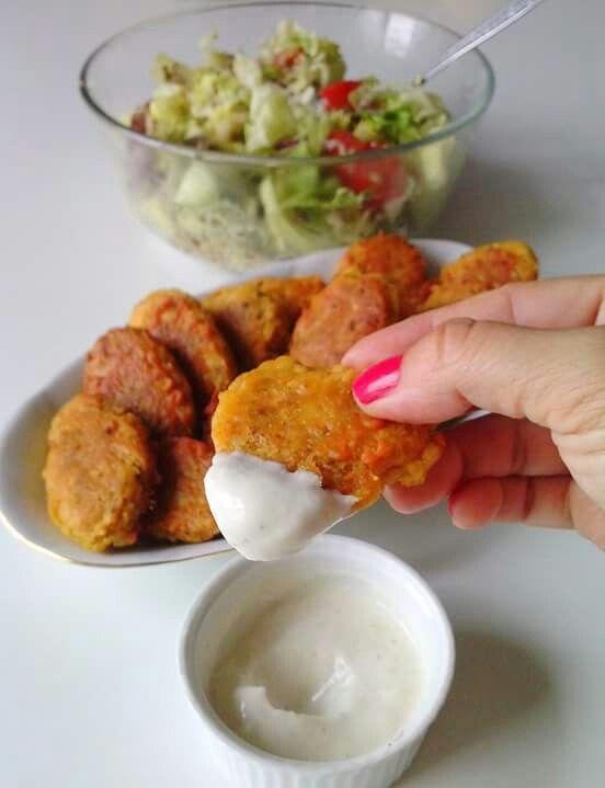 WEGANIZM UDOMOWIONY Nuggetsy jaglane / Millet nuggets