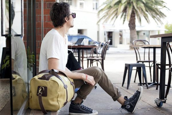Status Anxiety Runaway Traveler Bag :: Maxton Men