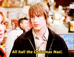 #roswell #michael #guerin - HAHA Isabelle The Christmas Nazi <3