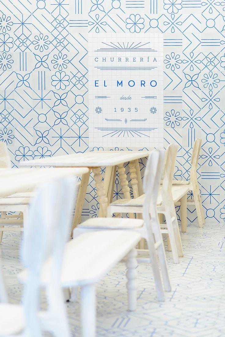 Churrería El Moro en México, diseño de Cadena Asociados