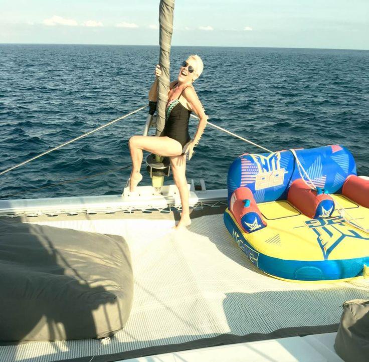 Courtesy of Sandy Valentine-Munn in #Facebook. #Jemme #Yacht #yachting #sealife #islands