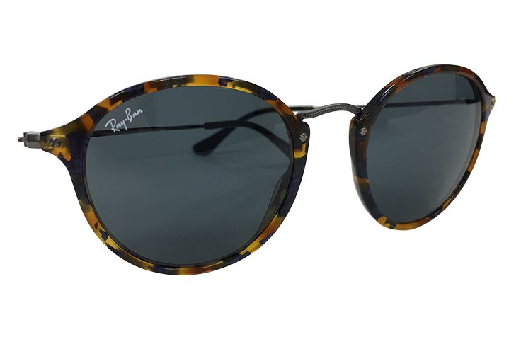 Round Wire Frame Tortoise Ray Ban $189.00 Crystal Eye Care 703-413-9001
