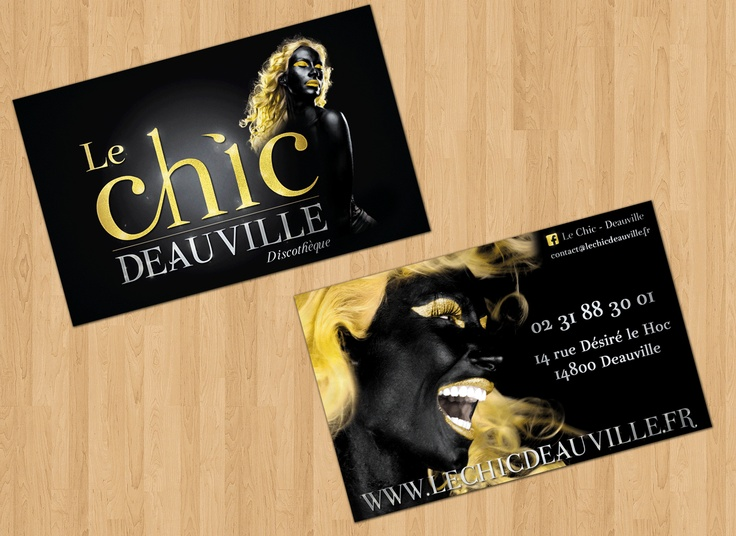 Business Cards - Le Chic Deauville - Nightclub