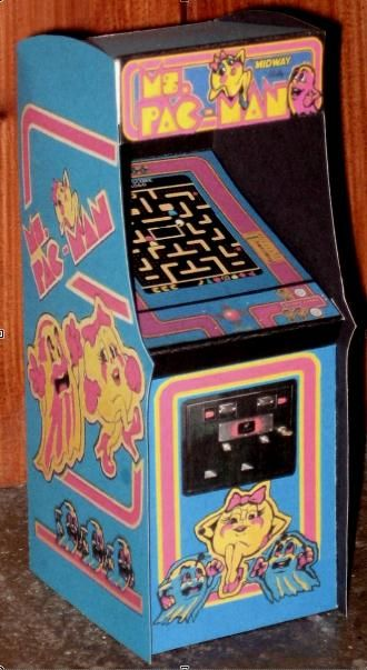 Oh yeah! NOW we're talkin' ... Ms. Pac-Man was released in North America in 1982 and became one of the most popular video games of all time.