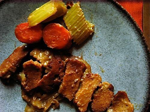 Seitan Brisket for a Vegan Rosh Hashana2