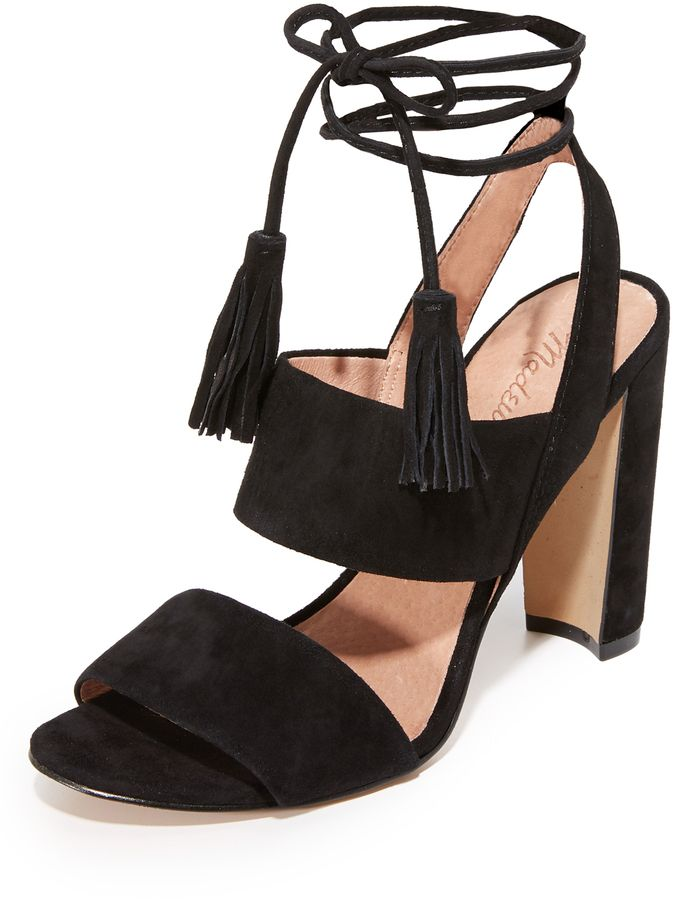 Octavia Tassel Sandals