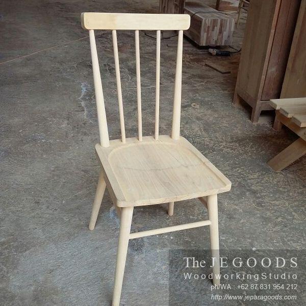 Model kursi cafe retro nordic - A scandinavia retro chair vintage made of teak by Jepara Goods Woodworking Studio Furniture Indonesia.