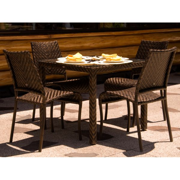 Rattan garden dining set for 4 with glass top table http   www. 16 best Rattan Garden Furniture images on Pinterest   Rattan