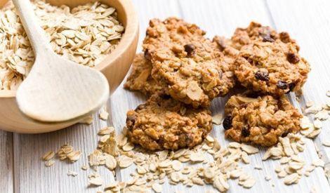 Banaan-havermout-walnoot koekjes