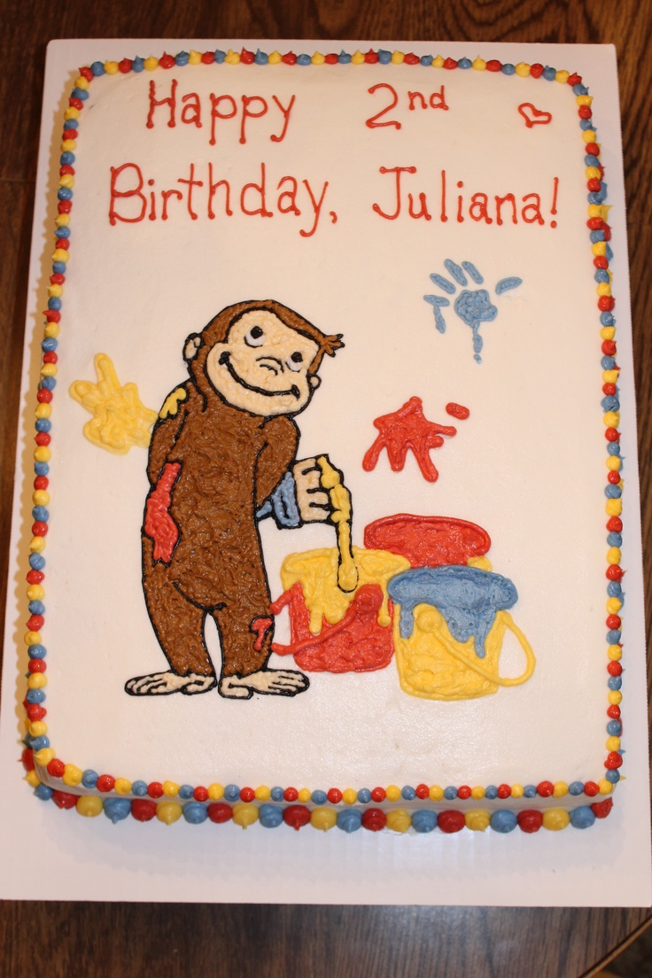 66 Best Erilyns 2nd Bday Party Ideas Curious George Images On