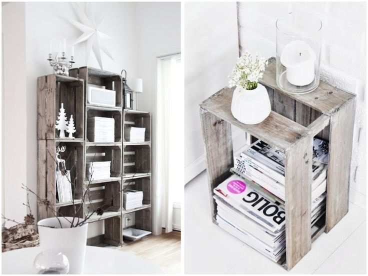 HOW TO STYLE: WOODEN CRATES - HOMESiCK