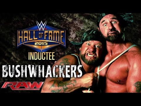 The Bushwhackers are announced for the WWE Hall of Fame Class of 2015: Raw, February 23, 2015 - YouTube