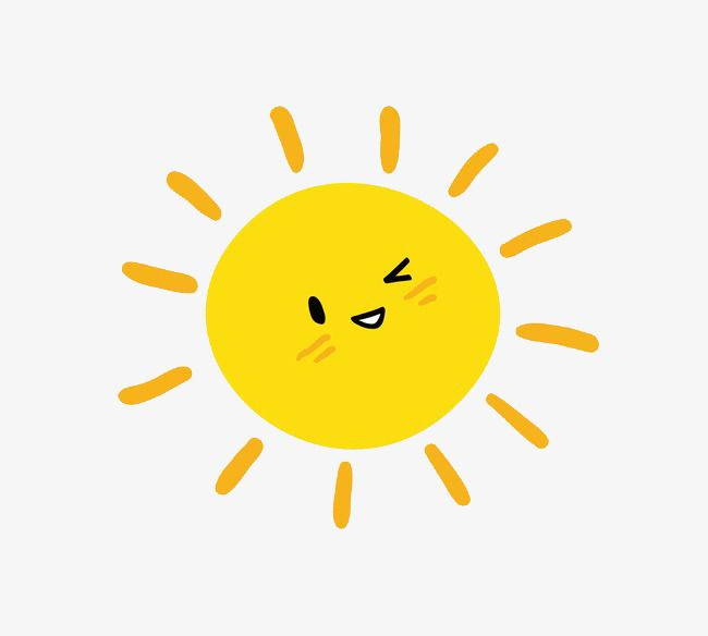 Vector Cartoon Sun Cartoon Clipart Sun Clipart Sunshine Png