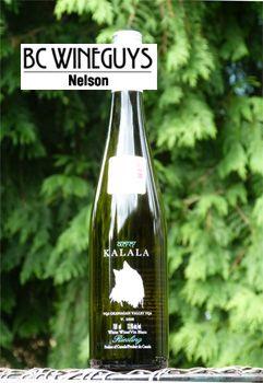 Kalala Riesling: Save the planet, drink organic!  http://bcwineguysnelson.ca