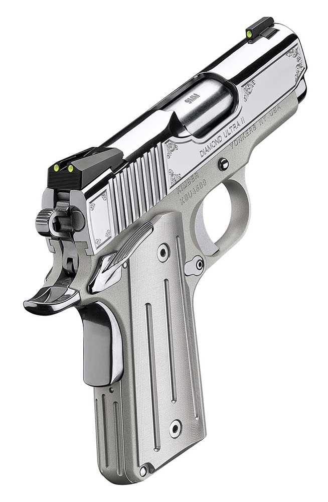 Kimber's Special Edition gem-tone line of 1911s is the Diamond Ultra™ II.
