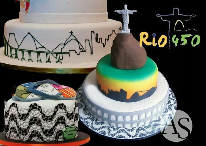 Bolo Rio de Janeiro, by Ana Salinas.