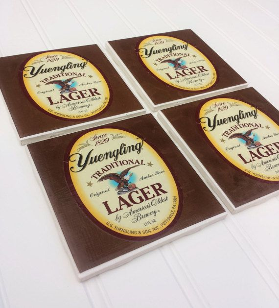 Beer Coasters - Yuengling Lager