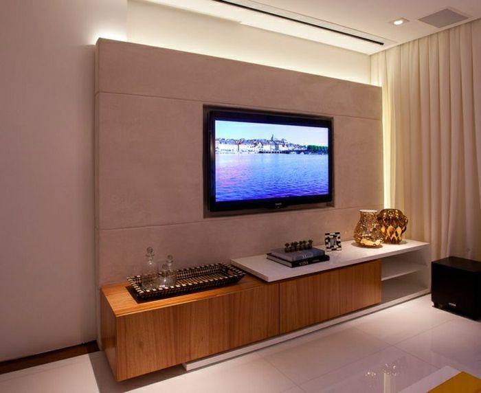 Ber ideen zu tv wand auf pinterest tv wand verstecken mount tv und tv an wand - Tv an wand anbringen ...