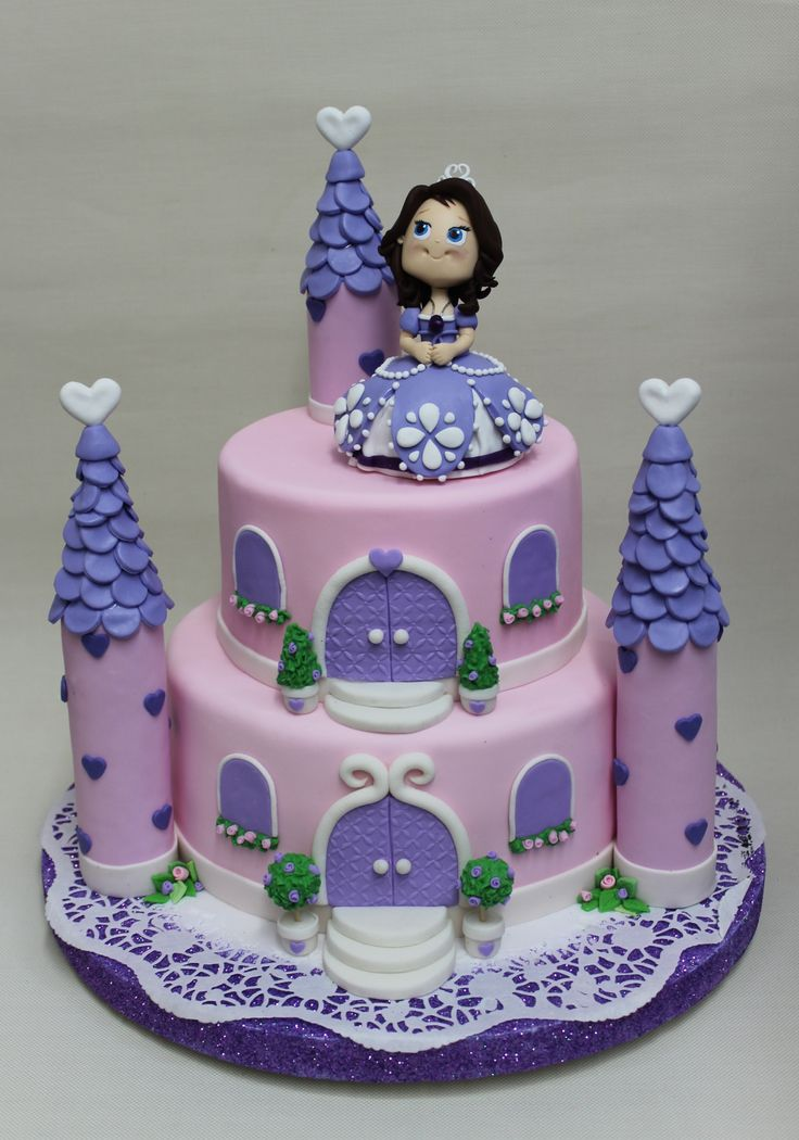 Pictures Of Princess Sofia Cake : 17 Best ideas about Sofia Cake on Pinterest Princess ...